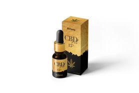 Olejek CBD 15% (1500 mg) certyfikowany